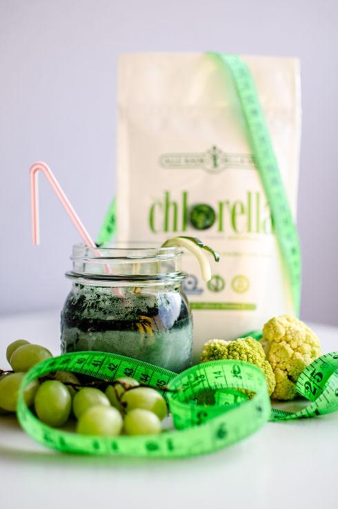 Alle Radici della Vita: polvere di Alga Chlorella